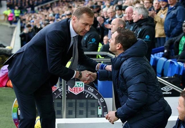 Frank Lampard reveals what he told Duncan Ferguson after Everton stun Chelsea - Bóng Đá