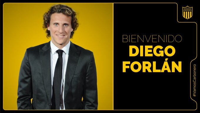 OFFICIAL:  @OficialCAP  have confirmed they have appointed Diego Forlán as their new manager. - Bóng Đá