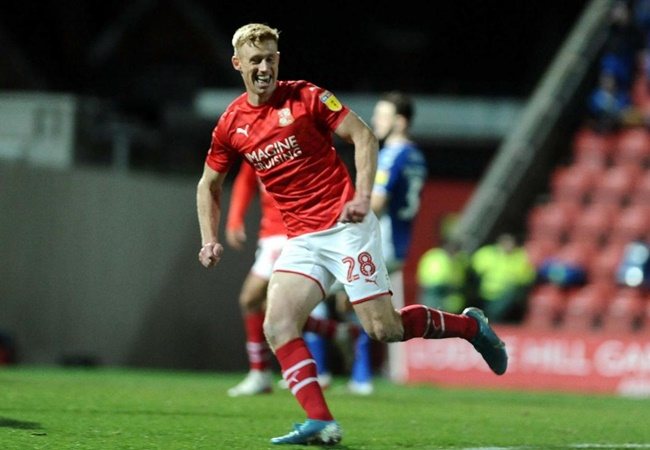 Eoin Doyle is the first player to score in 11 consecutive league matches in the top four tiers of English football since Jamie Vardy - Bóng Đá