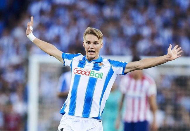 BREAKING: Martin Odegaard joins Manchester City till the end of the season. - Bóng Đá