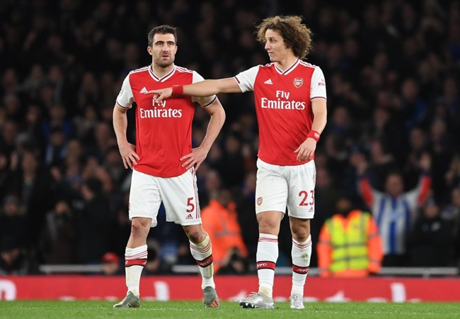 David Luiz aims dig at Unai Emery after Arsenal's win against Manchester United - Bóng Đá