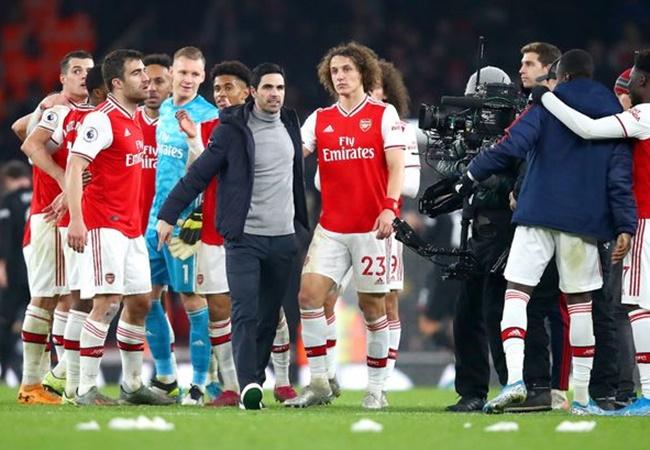 Mikel Arteta responds to David Luiz's dig at former Arsenal boss Unai Emery - Bóng Đá