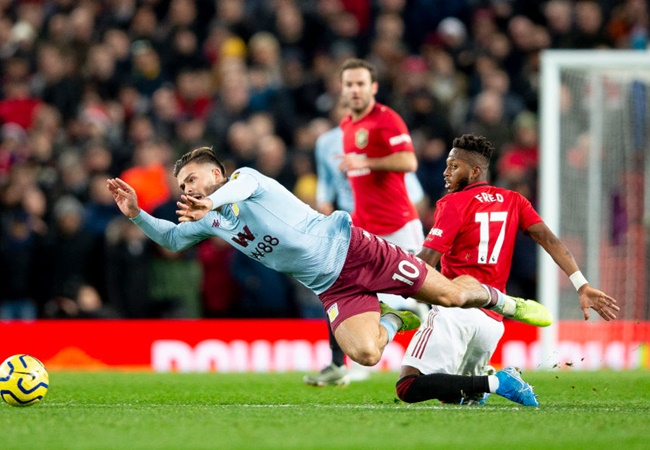 Aston Villa boss Dean Smith teases Manchester United over Jack Grealish transfer - Bóng Đá