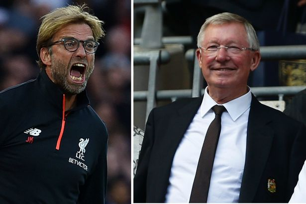 "Klopp: ""When I met him first it was, 'Alex Ferguson' with another word in the middle - Bóng Đá"