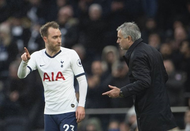 Antonio Conte hits back at Jose Mourinho over Christian Eriksen transfer comments - Bóng Đá