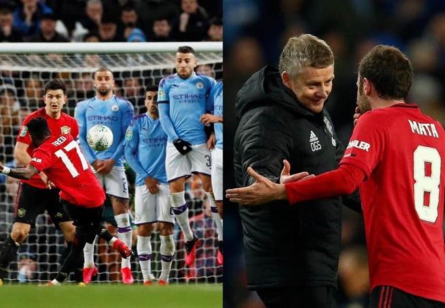 Rio Ferdinand and Cesc Fabregas question Manchester United's 'incredible' Juan Mata, Fred free-kick decision - Bóng Đá