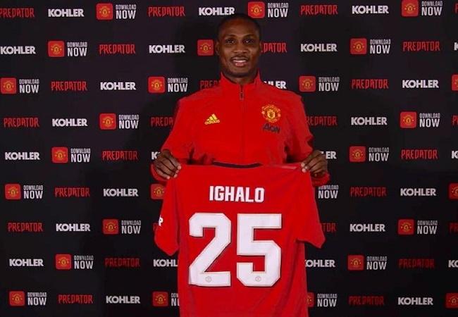 Odion Ighalo tipped to replace Manchester United striker Romelu Lukaku by Arsenal legend Kanu - Bóng Đá