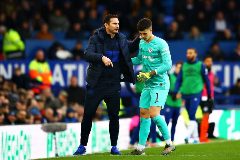 Frank Lampard lifts lid on relationship with Kepa amid Chelsea transfer speculation - Bóng Đá
