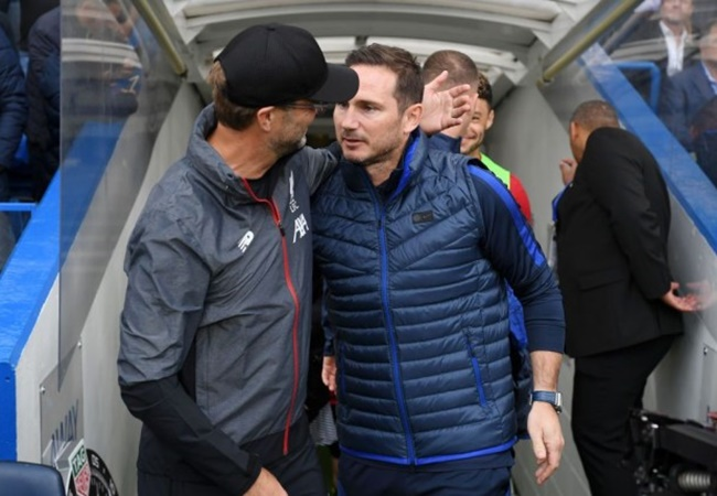 Jurgen Klopp hails Frank Lampard's impact as Chelsea manager ahead of Liverpool clash - Bóng Đá