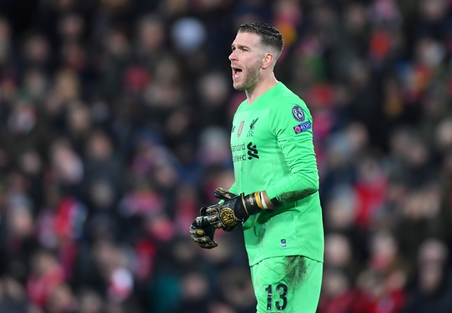 Liverpool's goalkeepers have made more errors leading to goals in the Champions League - Bóng Đá
