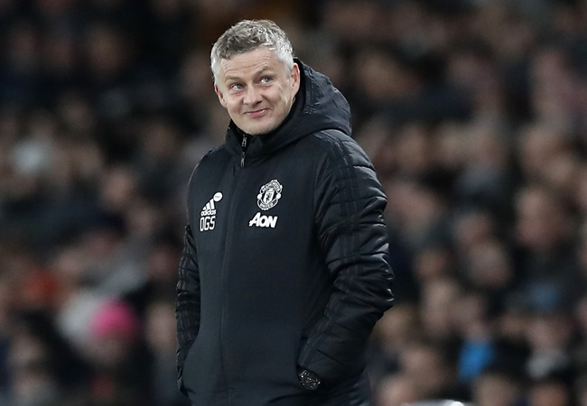 Manchester United manager Ole Gunnar Solskjaer says he will