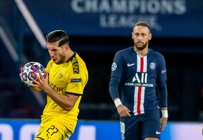 TRỰC TIẾP PSG 2-0 Borussia Dortmund: Emre Can nhận thẻ đỏ (H2) - Bóng Đá
