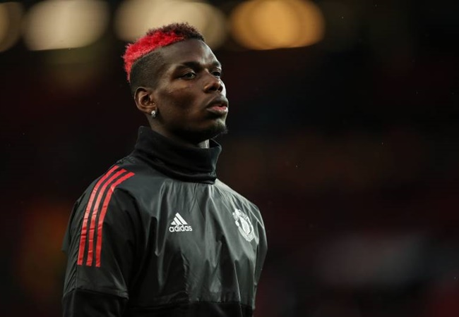 Manchester United star Paul Pogba clears up why he was wearing a Juventus shirt in quarantine training session - Bóng Đá