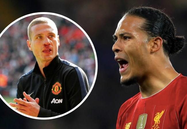 Man Utd legend Rio Ferdinand makes Nemanja Vidic and Virgil van Dijk decision - Bóng Đá