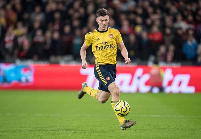 Kieran Tierney sends Arsenal warning to Bukayo Saka - Bóng Đá