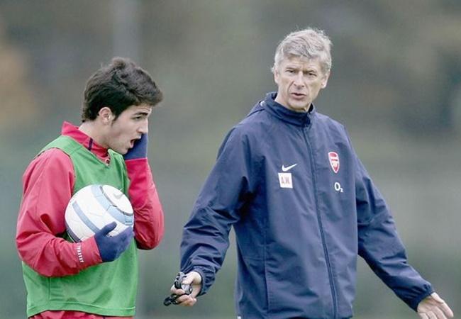 Cesc Fabregas reveals his biggest regret with Arsene Wenger at Arsenal - Bóng Đá