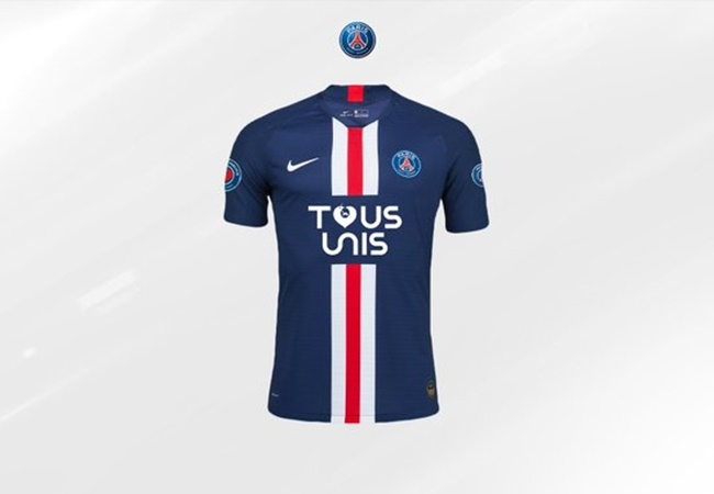 OFFICIAL: PSG announce a limited edition (1500 items) Tous Unis shirt. All sales money will go to Paris hospital staff. - Bóng Đá