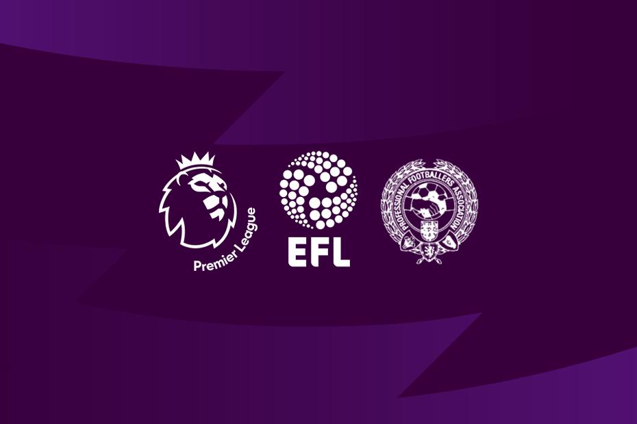 CHÍNH THỨC: Premier League, FA, EFL ra tuyên bố chung về COVID-19 - Bóng Đá