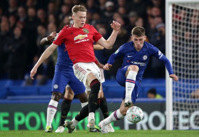 Billy Gilmour reveals text message from Scott McTominay after Manchester United beat Chelsea - Bóng Đá
