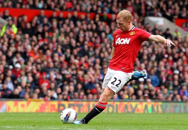 Scholes names Real Madrid duo as           the modern players most like him - Bóng Đá