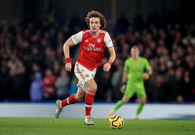 David Luiz has a 'very high' chance of staying at Arsenal next season, reveals agent - Bóng Đá