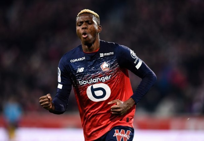 Lille chief tells Chelsea and Man Utd Victor Osimhen will cost the same as Nicolas Pepe - Bóng Đá