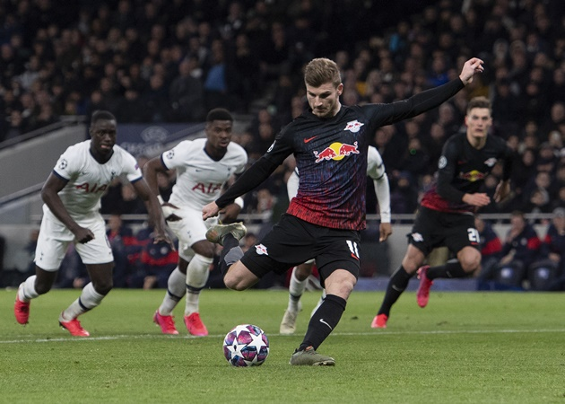 Leipzig boss responds to claims Chelsea transfer distracted Timo Werner in below-par performance - Bóng Đá