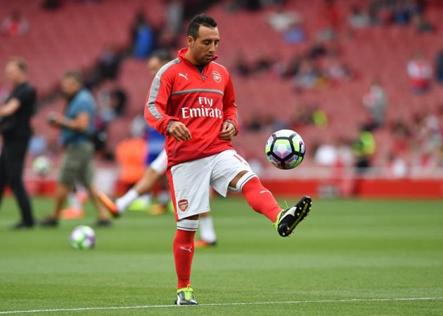 Santi Cazorla reveals he has made decision over his future after Mikel Arteta's offer to return to Arsenal - Bóng Đá