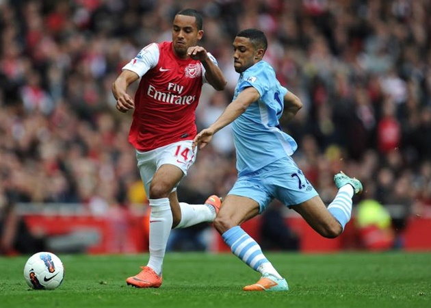 Gael Clichy has explained he felt he was on the verge of being forced out at Arsenal when he decided to join Manchester City. - Bóng Đá