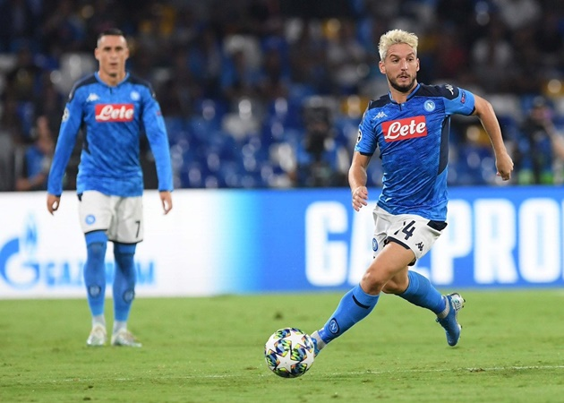 Why Napoli star Dries Mertens turned down Chelsea transfer - Bóng Đá