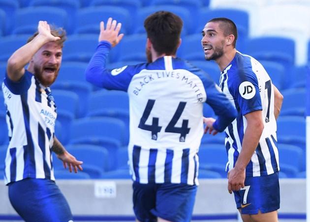 Toàn cảnh drama 'siêu to khổng lồ' ở trận Brighton 2-1 Arsenal - Bóng Đá