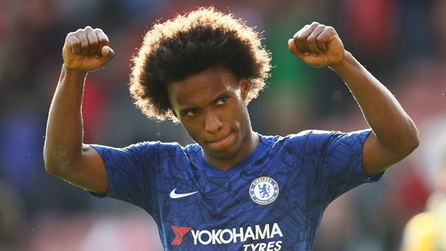 Chelsea's Willian: I prefer MLS after Europe over a return to Brazil - Bóng Đá
