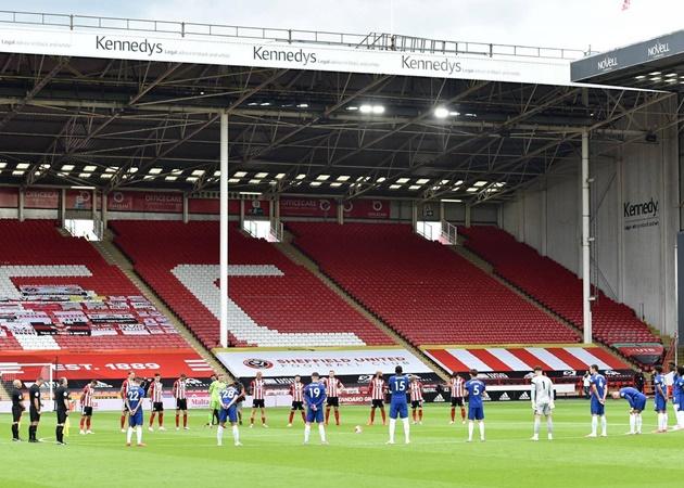 Thua sốc Sheffield United, Chelsea bị Man Utd phả hơi nóng sau gáy - Bóng Đá