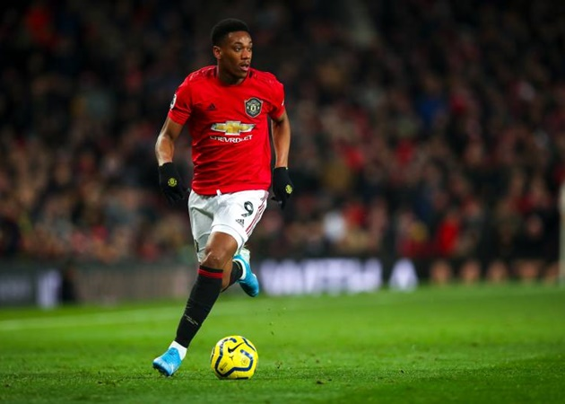 Anthony Martial reveals how Ole Gunnar Solskjaer gave him No.9 shirt back at Man United - Bóng Đá