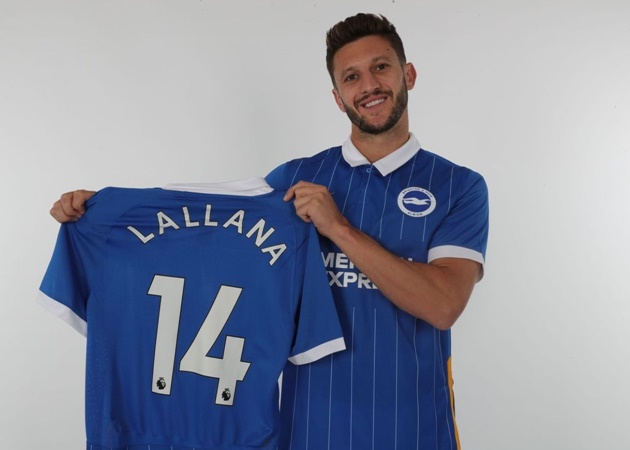Official: Albion are delighted to announce the signing of Adam Lallana on a three-year contract! - Bóng Đá
