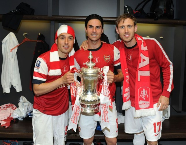 Santi Cazorla proves he still loves Arsenal with message to club after FA Cup win against Chelsea - Bóng Đá