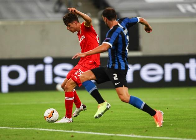 Bayer Leverkusen boss jokes about Kai Havertz and Chelsea transfer after Inter defeat - Bóng Đá