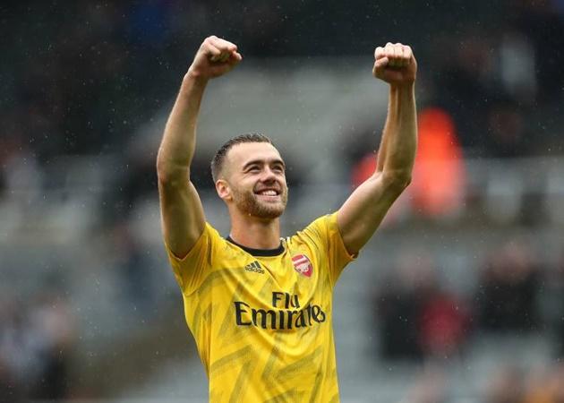 Arsenal defender Calum Chambers subject of £12m interest from Premier League rivals - Bóng Đá