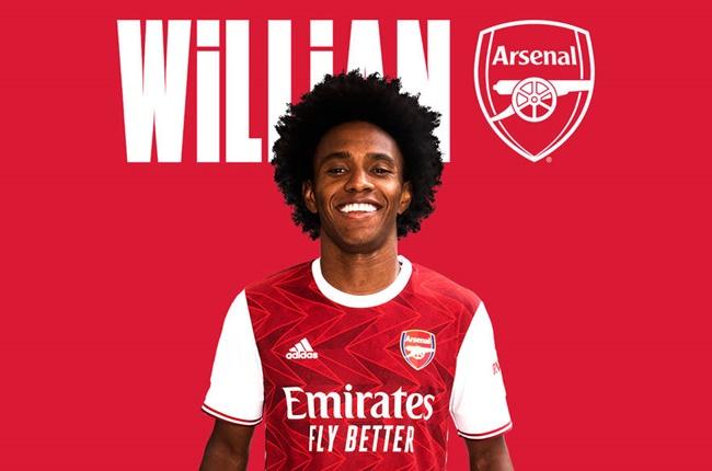 Official: Arsenal sign Wiliian - Bóng Đá