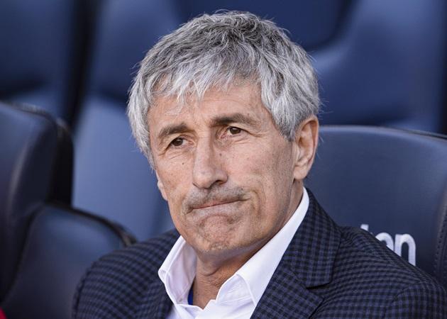Quique Setién no longer first team coach of Barca - Bóng Đá