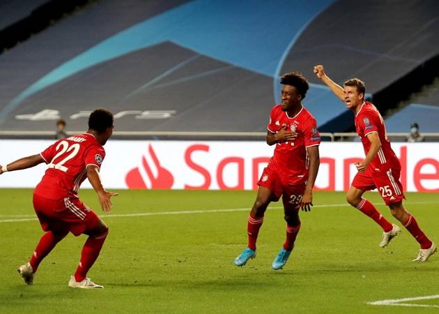 10 thống kê ấn tượng trận PSG 0-1 Bayern: Coman thua mỗi Messi! - Bóng Đá