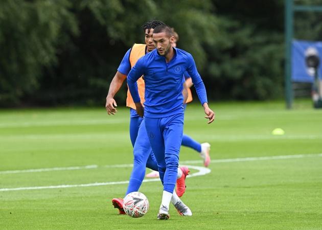 'Lampard nói với tôi cách Ziyech chuyền bóng thật buồn cười' - Bóng Đá