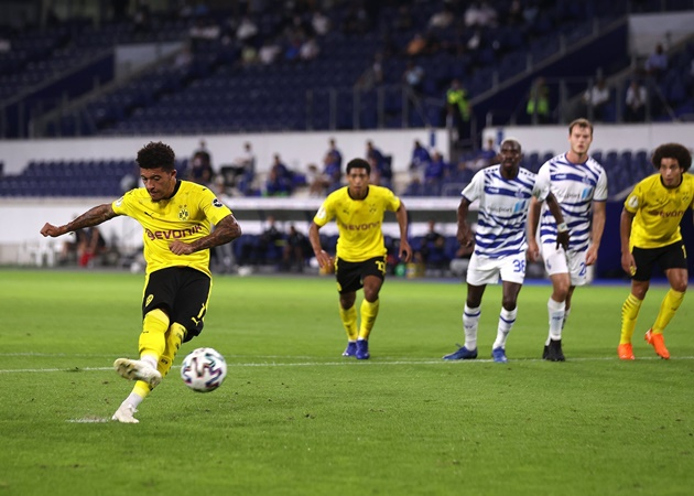 'Manchester United will have Sancho alternatives in mind' – Cole expecting 'interesting' end to transfer window - Bóng Đá
