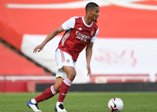 William Saliba reveals Arsenal ambition after accepting iconic No.4 squad number - Bóng Đá
