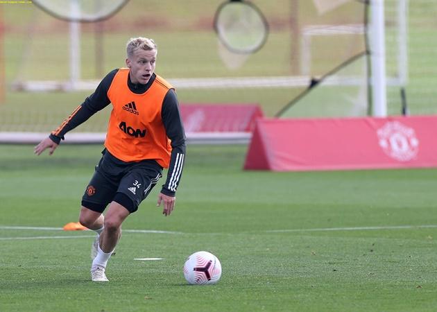 TRỰC TIẾP Man Utd - Crystal Palace: Chờ Van de Beek ra mắt - Bóng Đá