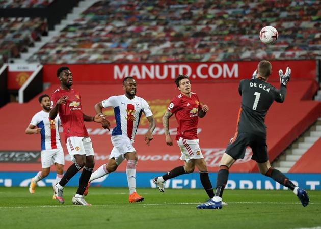 10 con số ấn tượng trận Man Utd 1-3 Palace: 'Cơn ác mộng' Zaha - Bóng Đá