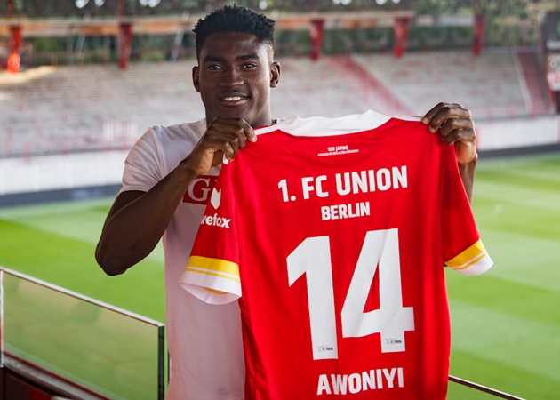 Taiwo Awoniyi: Union Berlin sign Nigeria forward on loan from Liverpool - Bóng Đá