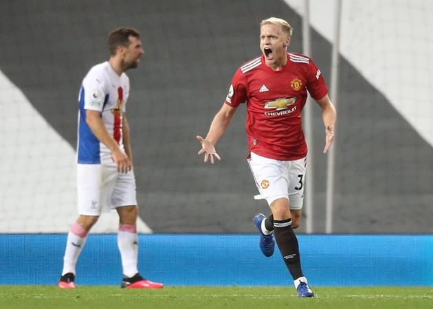 Van de Beek 'khai hỏa', Man Utd vẫn thua thảm Palace tại Old Trafford - Bóng Đá