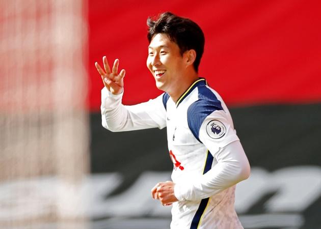 Đội hình tiêu biểu vòng 2 EPL: Son Heung-min bùng cháy; 'Điểm 10' Mane - Bóng Đá