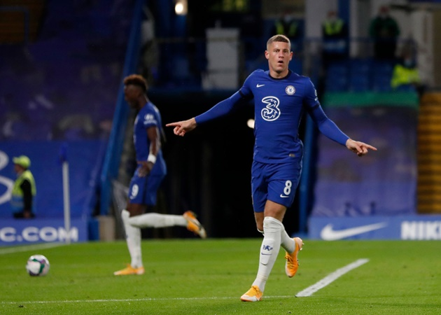 Chelsea open to Ross Barkley exit as Aston Villa target loan deal - Bóng Đá